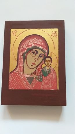Ikona współczesna Matki Boskiej Kazańskiej i inne