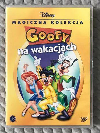 """Goofy na wakacjach"" - bajka Walta Disneya DVD - UNIKAT!!!"