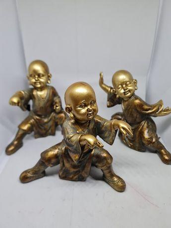 Estátuas Monges Ninjas