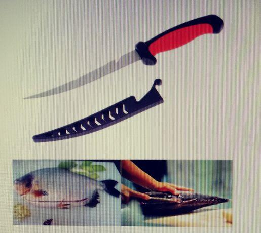 Nóż wędkarski uniwersalny.