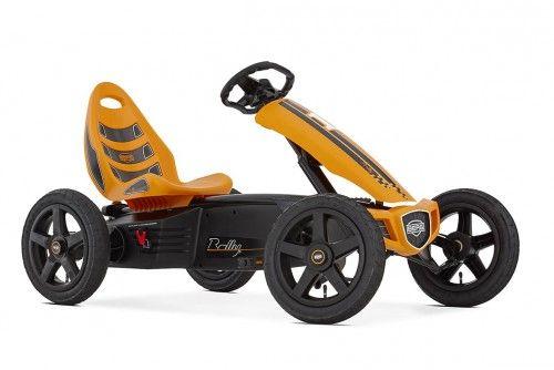 Gokart na pedały BERG Rally Orange od 4 do 12 lat , do 60 kg