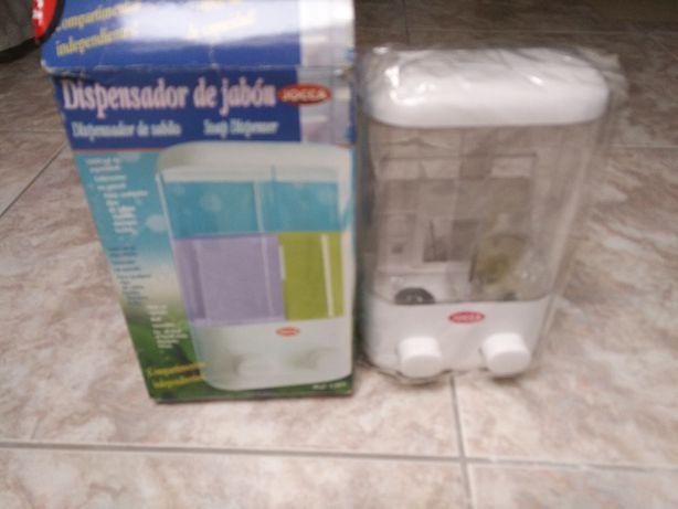 distribuidor de gel banho e shampoo, novo