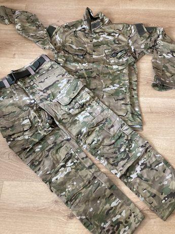 mundur polowy multicam asg wędkarstwo zimow L