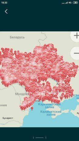 2021 ГОД Карты древние ВСЕ ОБЛАСТИ археологические точки для копа