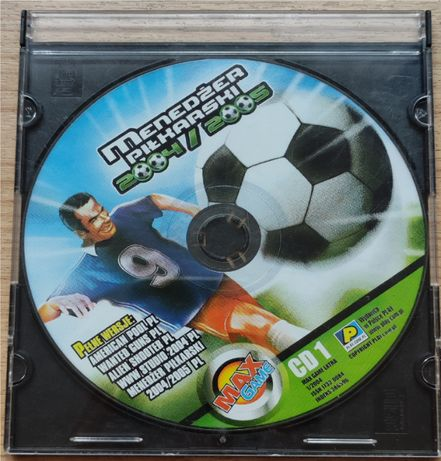 Menedżer Piłkarski 2004/2005 gra na PC !