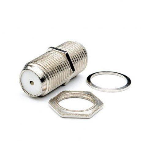 Коннектор соеденитель (БОЧКА) F/F RG58 (100 шт.)
