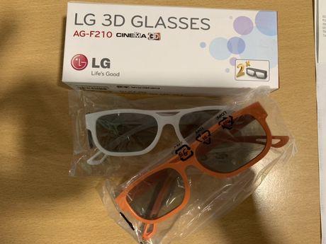 LG 3D Óculos