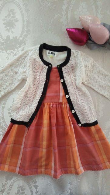 Sweterek+sukienka 80/86 GAP BabyClub
