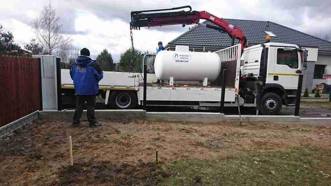 Zbiornik na gaz 2700l 4850l dostępne od ręki.