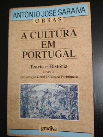 A Cultura em Portugal,  Teoria e História livro I