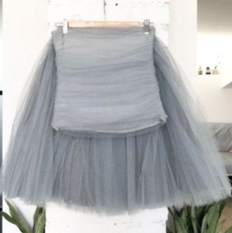 Zestaw Fanfaronada tiulowa spódnica + tiulowy gorset