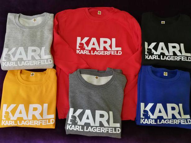 Bluzy wybór M-XXL. Karl Tommy Pitbull Guess Levis 38zł.