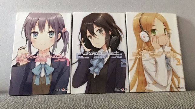 Kokoro Connect,tom 1-3