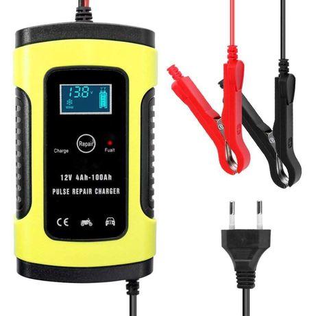 Импульсное зарядное устройство аккумуляторов Foxsur восстановление АКБ