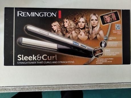 Prostownica Remington Sleek & Curl Raz użyta