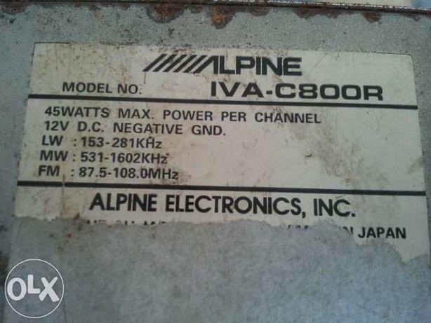 Alpine box IVA-C800R