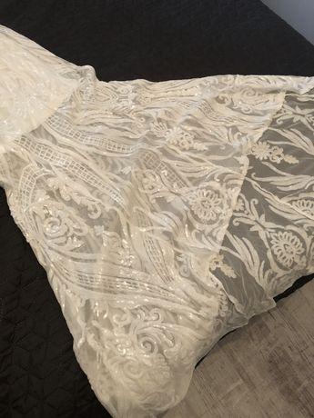 Suknia ślubna/na poprawiny ASOS 42