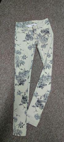 Bawełniane spodnie roz 36