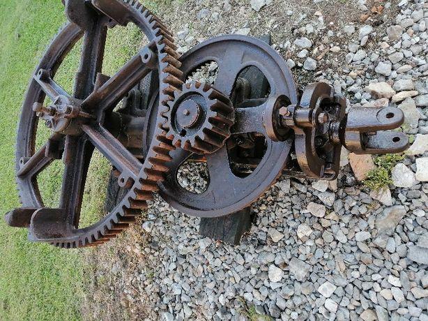 Oryginalna OZDOBA OGRODU-KIERAT ze stali, żeliwa