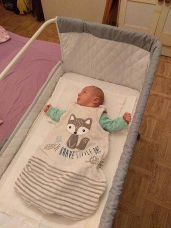 Lionelo Theo łóżeczko dostawne