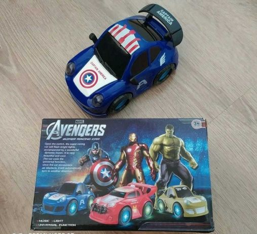 Grający Samochód Avengers Captain America