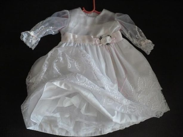 Sukieneczka na chrzest + gratisy
