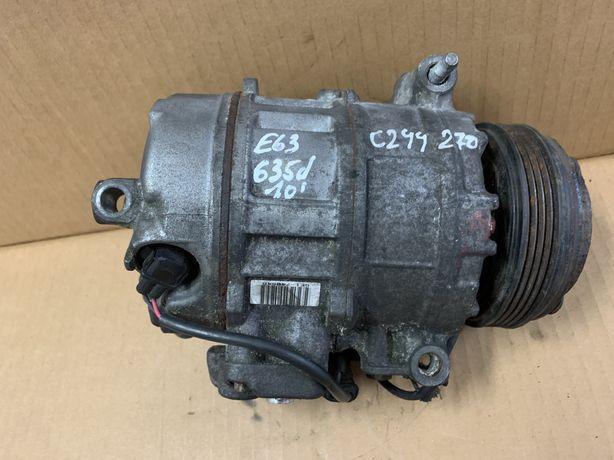 Compressor AC BMW E63 535D Ar condicionado