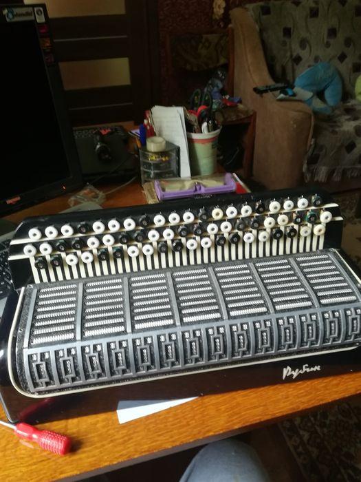 Продам правую клавиатуру баяна Рубин Днепр - изображение 1