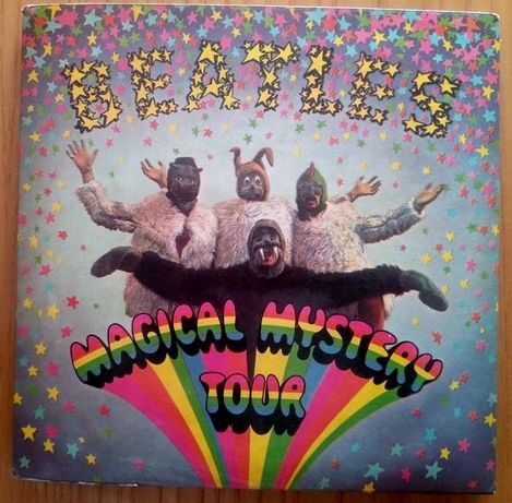 Beatles Magical Mystery Tour - 2 EPs / 7'' 45rpm