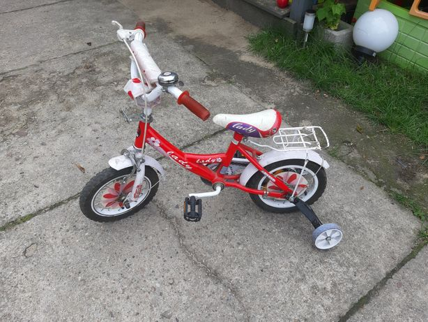 Rowerek z kolkami