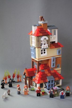 Harry Potter Atak na Norę 75980 klocki LEPIN