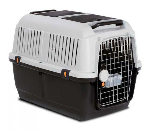 Большая переноска для собак BRACCO TRAVEL-6 92х64х67.5 см с поилкой