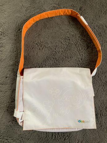 "Biała torba na laptopa 15"" Lenovo ideapad"