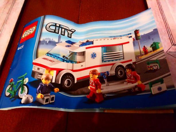 """Lego City 4431 """"Ambulans"""". Stan b.dobry. Okazja cenowa"""