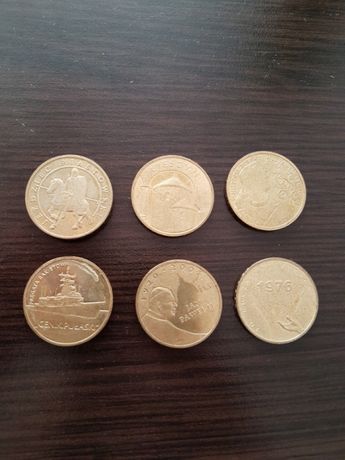 Monety 2 zł zamienię sprzedam