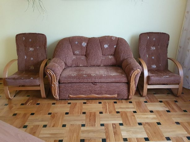 Sprzedam sofę i 2 fotele