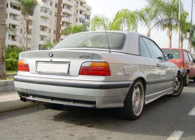 Задний бампер БМВ М3 Е36, диффузор заднего бампера BMW М3 Е36 отдельно