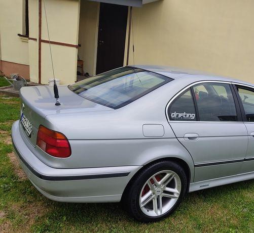 Felgi 17 Momo z oponami BMW E39 5x120- Zamiana na większe