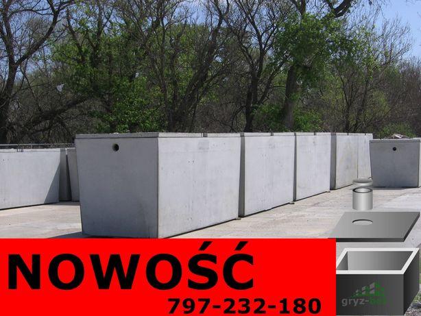 szambo betonowe dla 4os szamba solidne zbiorniki Myślenice Wadowice