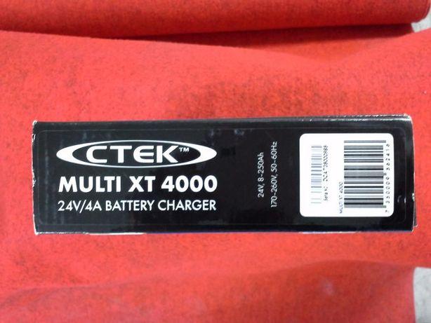 CARREGADOR CTEK MULTI XT 4000 novo, sem uso e na caixa de origem