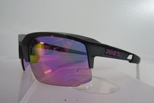 Okulary 100% Speedcoupe Soft Tact Graphite
