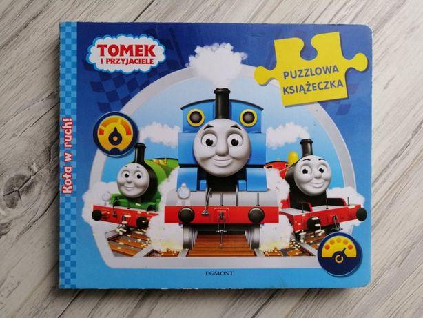 Puzlowa puzzlowa książeczka Tomek i przyjaciele