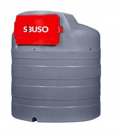 Dwupłaszczowy zbiornik na olej napędowy 2500L , od ręki