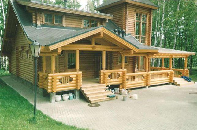 Строительство деревянных домов и бань /Будівництво дерев'яних будинків