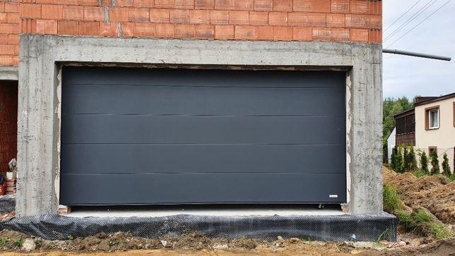 Brama Segmentowa 300x225 Antracyt