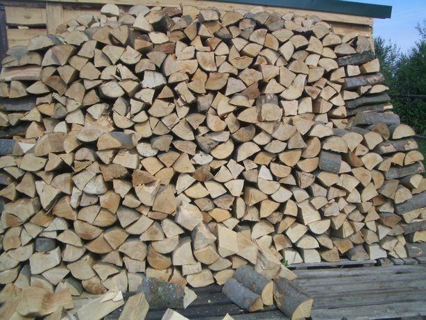 Sezonowane drewno kominkowe super jakość