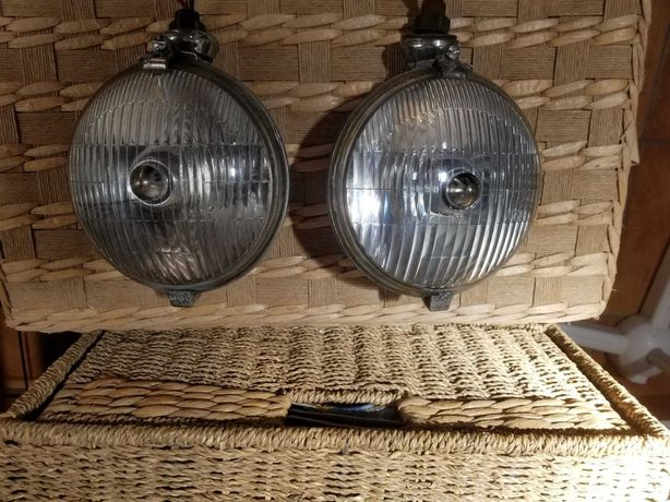 Lucas 576 Vintage Driving Lamps x2