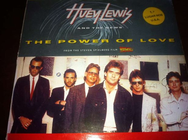 Huey Lewis and The News - The Power of Love - LP Edison 431515