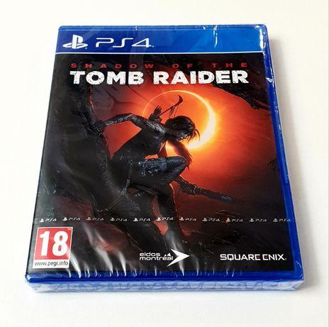 Gra Shadow Of The Tomb Raider PL PS4 PS5 Playstation 4 5 Nowa Folia