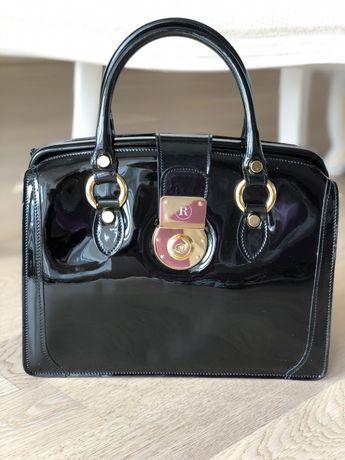 Женская итальянская кожаная сумка Francesco Rogani